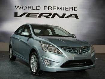 Hyundai Verna. Фото с netcarshow.com