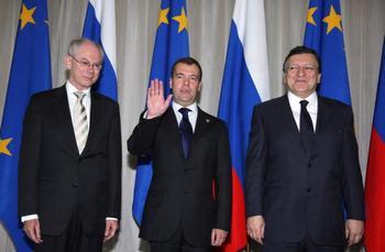 Саммит Россия-ЕС открылся в Нижнем Новгороде. Фото: HAIL KLIMENTYEV/AFP/Getty Images