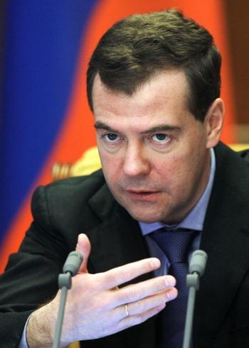 Дмитрий Медведев  защитил права рыбаков-любителей на бесплатную рыбалку. фото: VLADIMIR RODIONOV/AFP/Getty Images