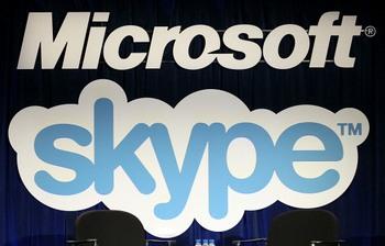 Мicrosoft готова передать исходные данные Skype ФСБ России. Фото: Justin Sullivan/Getty Images