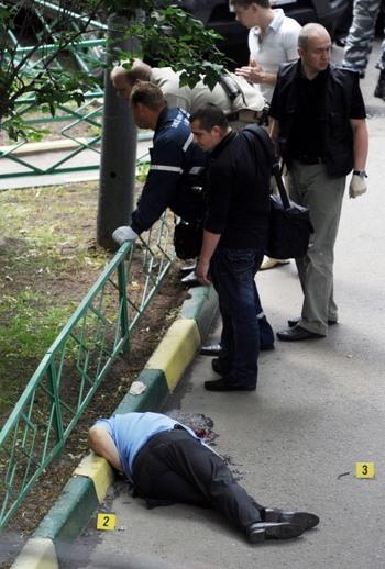 Юрий Буданов расстрелян  в Москв. Фото: NATALIA KOLESNIKOVA/AFP/Getty Images
