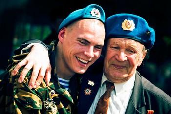 День ВДВ отмечают десантники России. Фото с sterlegrad.ru