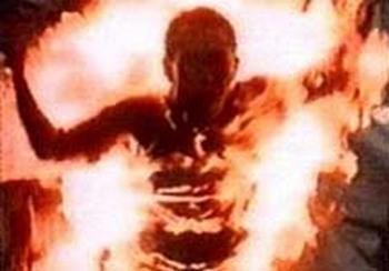 Cамосожжение в здании суда совершил житель Красноярского края. Фото с grani.ru