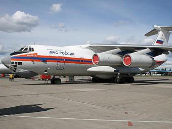 Самолет МЧС России. Фото с meta.kz