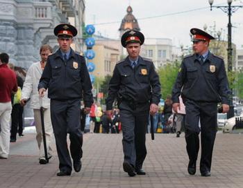 Милиция в России стала полицией. Фото: Фото: Alexander NEMENOV/AFP/Getty Images