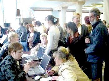 По состоянию на 1 мая 2011 года в Иванове численность безработных граждан, зарегистрированных в службе занятости населения, составила 2763 человека.Фото с ivczn.ru