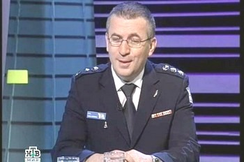 Вадим Лейдерман. Кадр телеканала НТВ Фото .
