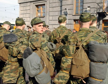 Весенний призыв в России начался. Фото с foto.rg.ru