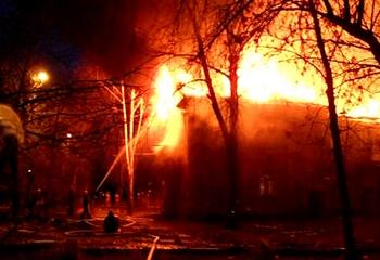 Нарушение прав заключенных  спровоцировало пожар в тюрьме. Фото с scan.interfax.ru