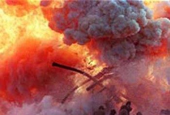 Взрывы в Волгограде прогремели у здания ГИБДД и Академии МВД. Фото с nakanune.ru