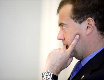 Медведев объявил войну наркотикам. Фото: DMITRY ASTAKHOV/AFP/Getty Images