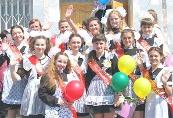 Последний звонок в школах России звенит сегодня для выпускников. Фото с azovoinfo.ru