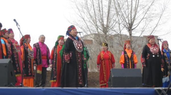 Хакасский фольклорный ансамбль. Фото: Великая Эпоха