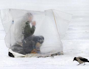 Рыбаки в Азовском море спасены. Фото: AFP/Getty Images
