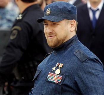 Рамзан Кадыров, назначенный Путиным временно исполняющим обязанности президента Чечни, отказался называться президентом. Фото: AFP/Getty Images