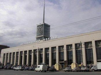 Финляндский вокзал. Фото с сайта al-spbphoto.narod.ru