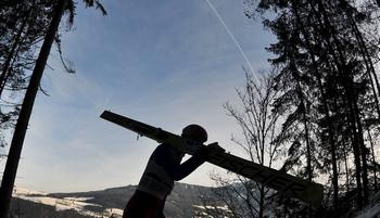 На горнолыжном курорте погибла 13-летняя россиянка. Фото:  SAMUEL KUBANI/AFP/Getty Images