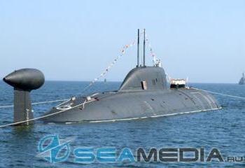 Очередные испытания АПЛ «Нерпа» прошли успешно. Фото с сайта seamedia.ru