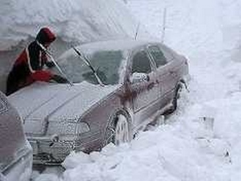 Снежные заносы. Фото с сайта   rosbalt.ru