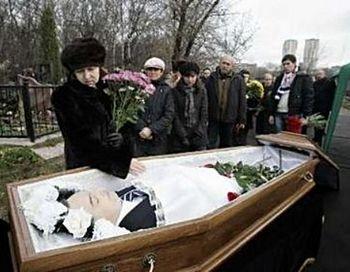 Похороны Сергея Магнитского. Фото с сайта rusliberal.com