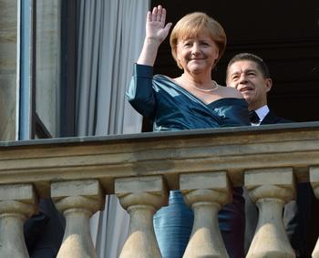 Ангела Меркель. Фото: CHRISTOF STACHE/AFP/GettyImages