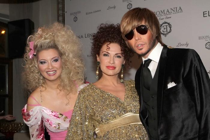 Лена Ленина (слева), Эвелина Блёданс, Сергей Зверев. Фото предоставлено пресс-службой Лены Лениной