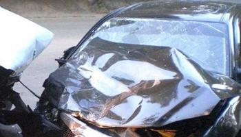 В ДТП  на Русаковской Mazda столкнулась мусоровозом.  Фото с сайта fotodtp.net