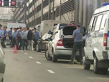 Нападение на инкассаторов совершено сегодня в Москве, в результате которого все трое инкассатора погибли Фото с сайта lenta.ru