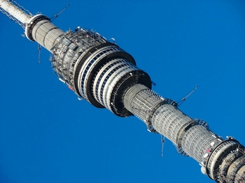 Останкинская башня. Фото с сайта molgvardia.ru