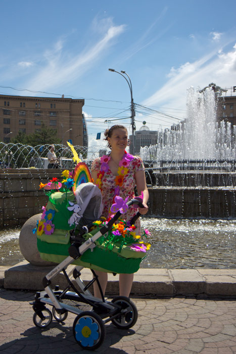 Парад колясок новосибирск 2014