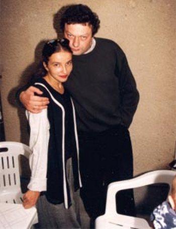 Роман Козак с супругой, хореографом Аллой Сигаловой. Фото с сайта teatr.ru
