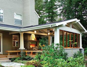 Терраса и веранда - важнейшие составляющие каждого дома. Фото с сайта original-garden.ru