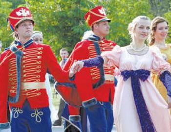 Бал в честь 200-летия победы в войне 1812 года . Фото с сайта  http://newsgo.ru