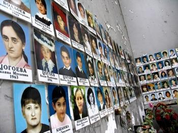Памяти жертв теракта  2004 года в Беслане были посвящены траурные мероприятия. Фото с сайта eftorsello.wordpress.com