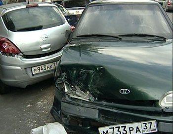 В аварии на объездной дороге трассы под Тольятти столкнулись несколько десятков автомашин. Фото с сайта avariya-ili-ugon.ru