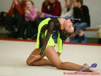 Виолетта Баллирано – 15-летняя гимнастка. Фото с сайта ves.lv