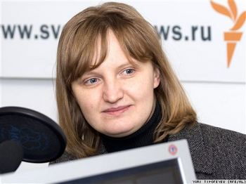 Правозащитница центра «Сова» Галина Кожевникова. Фото с сайта svobodanews.ru