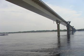 Танцующий мост в Волгограде  Фото с сайта v102.ru