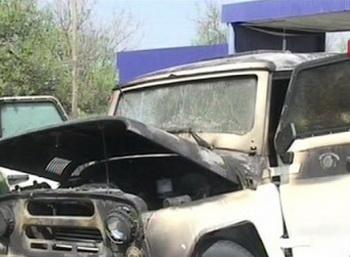 Пятеро полицейских и местный житель  были ранены в субботу в Ингушетии. Фото с сайта 5-tv.ru