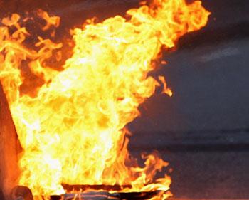 Пожар на Большой Грузинской в Москве. Фото с сайта freefoto.com
