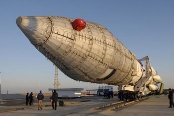 Авария с ракетой «Протон-М» произошла  на  Ульяновской железной дороге. Фото с сатйа yvision.kz