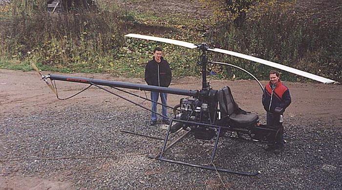 Самодельный вертолет своими руками фото