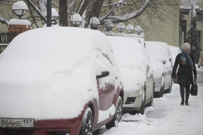 Погода в Москве. Фото:  NATALIA KOLESNIKOVA/AFP/Getty Images