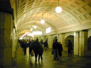 Сокольническая линия метро по техническим причинам дала сбой. Фото с сайта dic.academic.ru