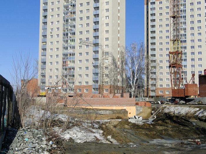 В Новосибирске в строительство вложили около 36 миллиардов рублей. Фото:   skyscrapercity.com