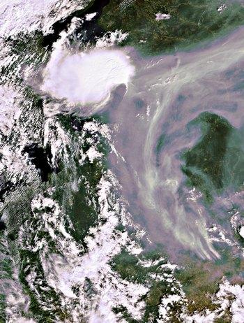 Ураганы и смерчи ожидаются в Центральной России. Фото: European Space Agency via Getty Images
