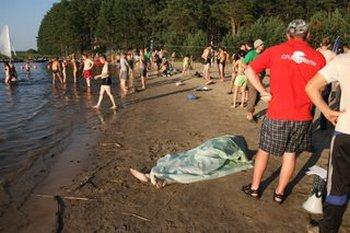 На Селигере утонул участник молодежного форума. Фото: Денис ТИТОВ/den-titov.livejournal.com