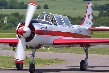 Разбился самолёт Як-52  в Логиново Свердловской области, погиб пилот. Фото с сайта aeroclub.front.ru