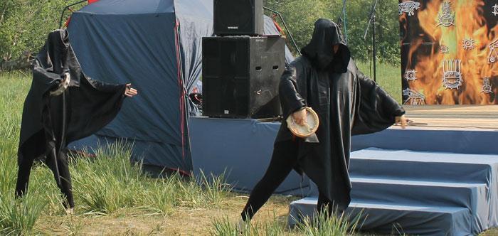 Шаманский танец.  Фото: Максим Кочетков/Великая Эпоха (The Epoch Times)