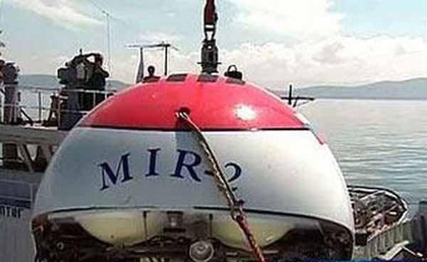 Золото Колчака на Байкале ищут глубоководные аппараты «Мир-1» и «Мир-2». Фото с сайта copypast.ru